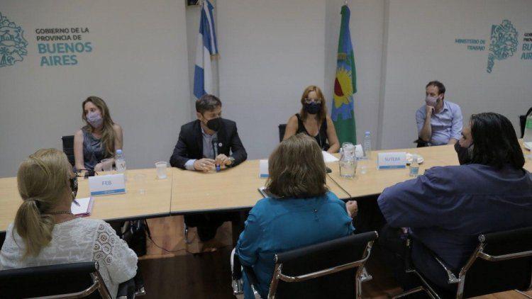 Los docentes bonaerenses aceptaron la propuesta salarial de Axel Kicillof.