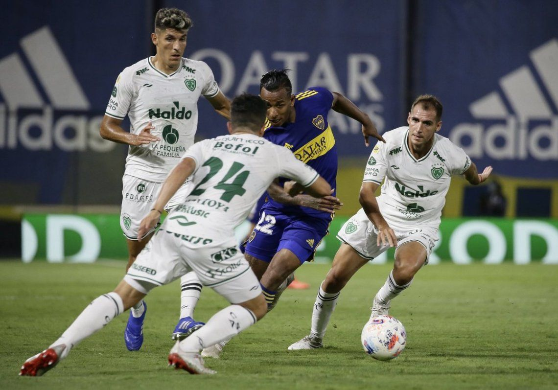 Boca sigue sin ganar en la Bombonera durante 2021.