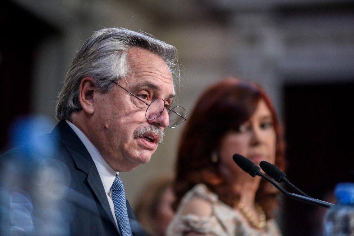 Alberto Fernández ante la Asamblea Legislativa