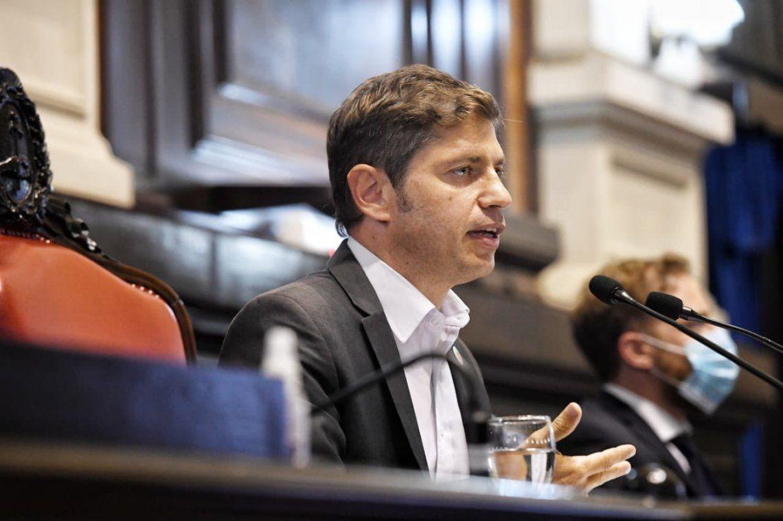 KIcillof inauguró las sesiones ordinarias de la provincia de Buenos Aires.
