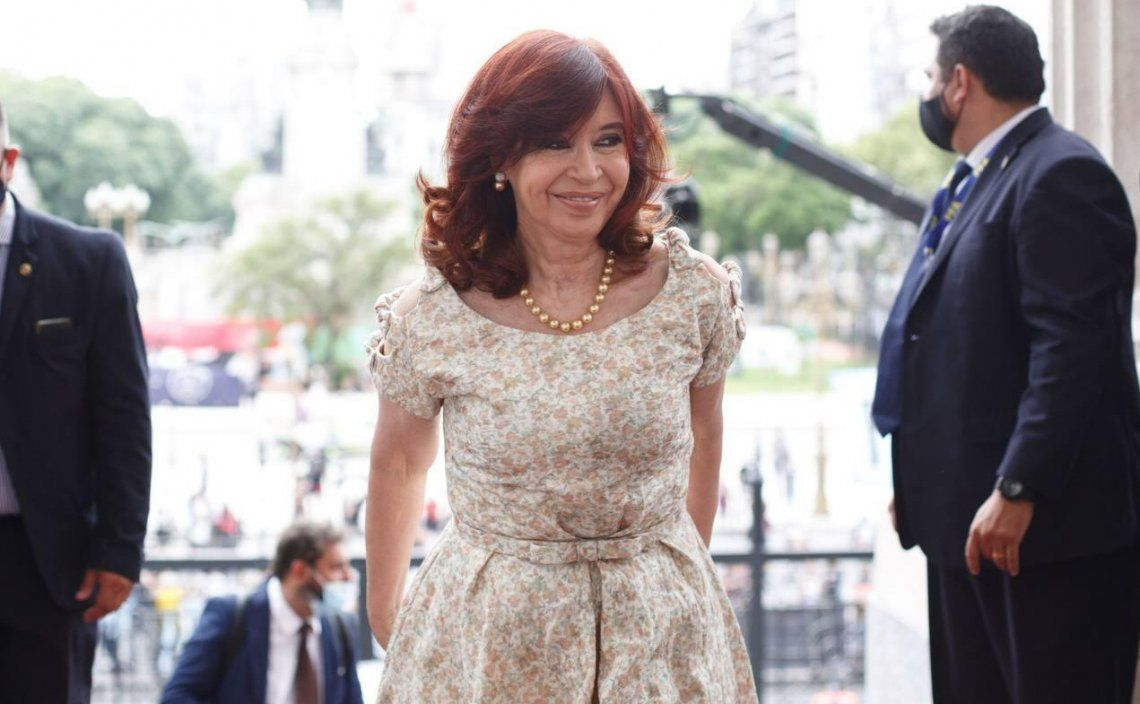 La vicepresidenta Cristina Fernández estará en Las Flores