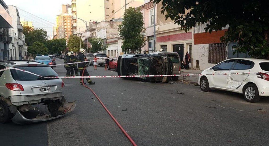 El hecho ocurrió en la intersección de la avenida Juan B. Justo y Beláustegui.