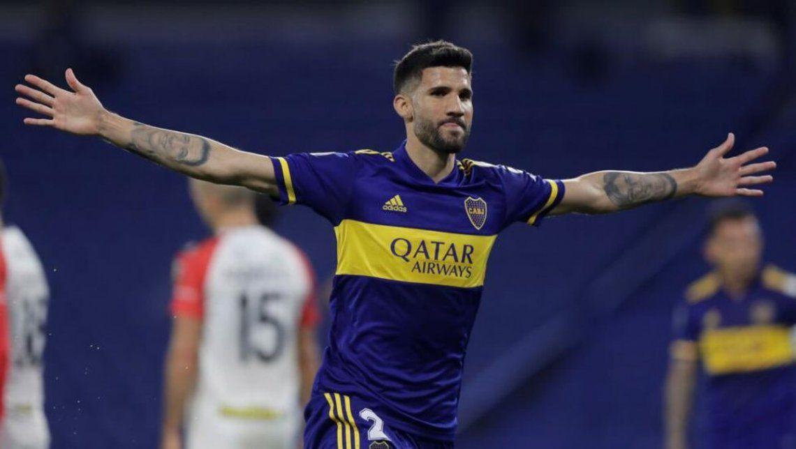 Lisandro López arrancará como titular en Boca ante Claypole