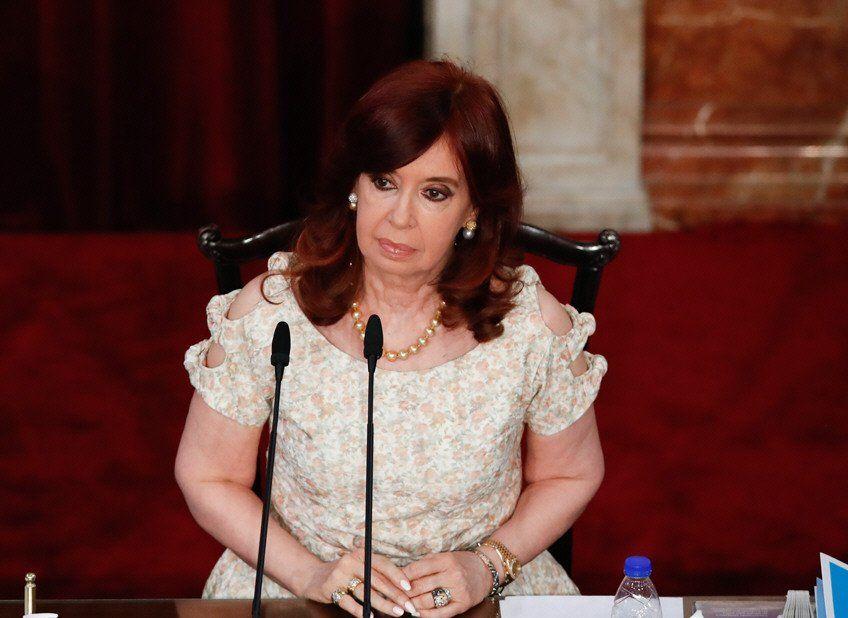 La vicepresidenta Cristina Fernández de Kirchner despidió a Miguel Lifschitz.