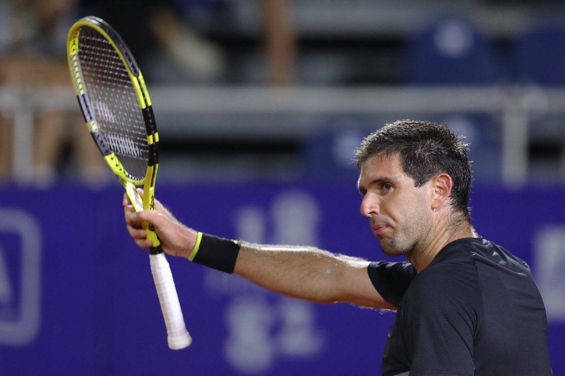 Federico Delbonis sigue en carrera en el Argentina Open
