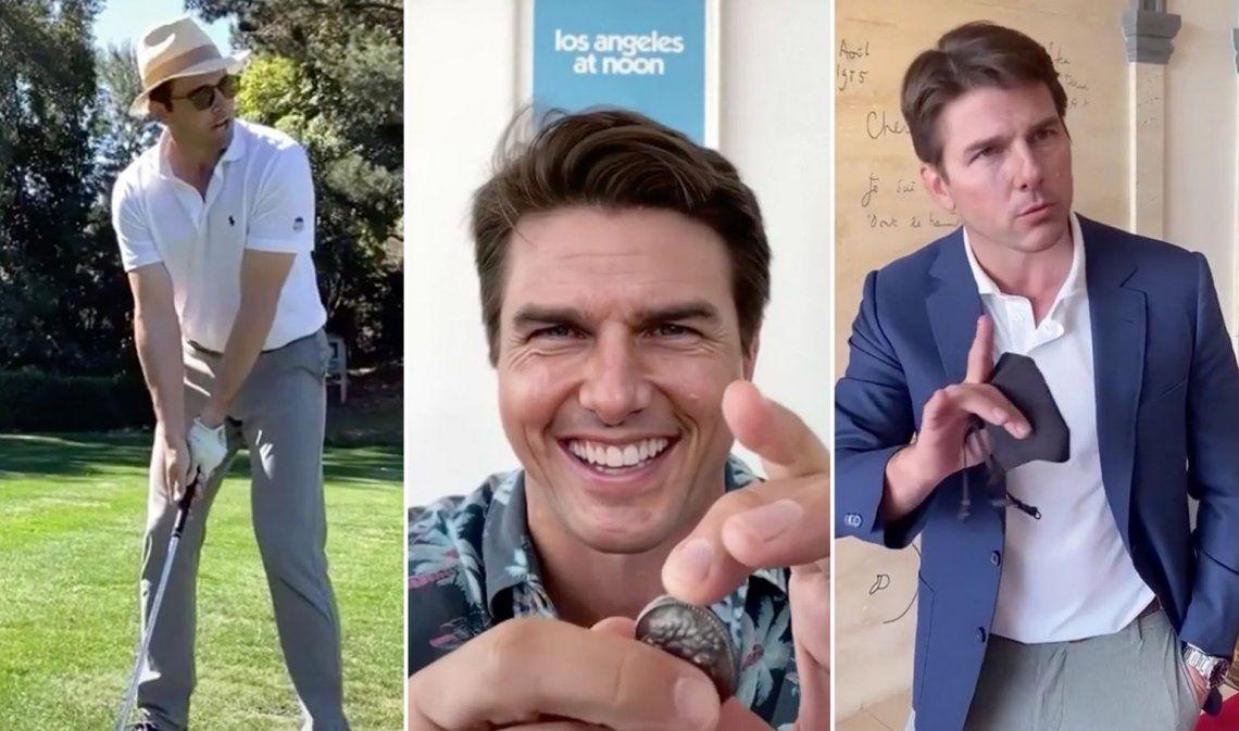 Deepfake de Tom Cruise engañó al púbico y es furor en TikTok