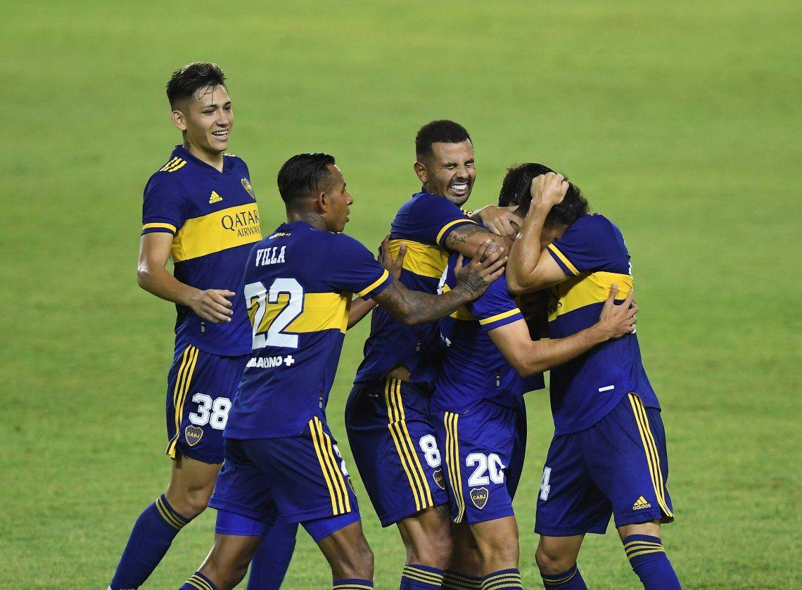 Las mejores fotos de la victoria de Boca ante Claypole por Copa Argentina