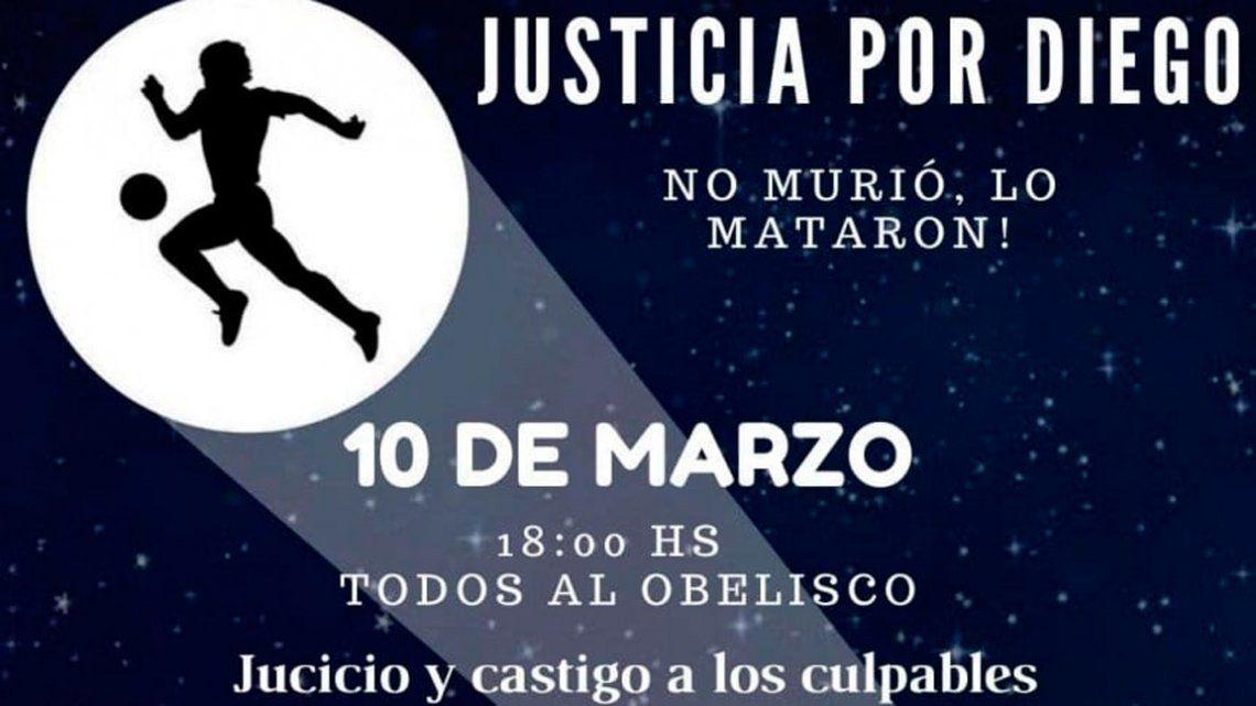Convocan a una marcha para pedir justicia por Maradona