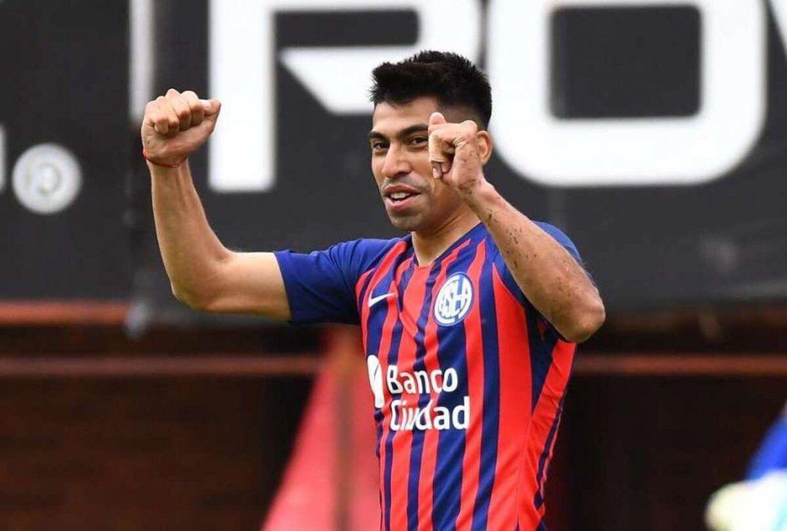 Juan Ramírez sería titular en San Lorenzo frente a Huracán