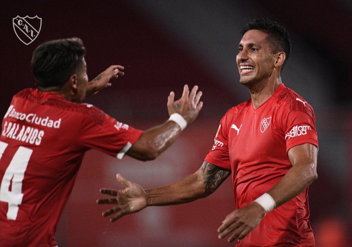 Independiente tiene seis puntos en la Zona B.