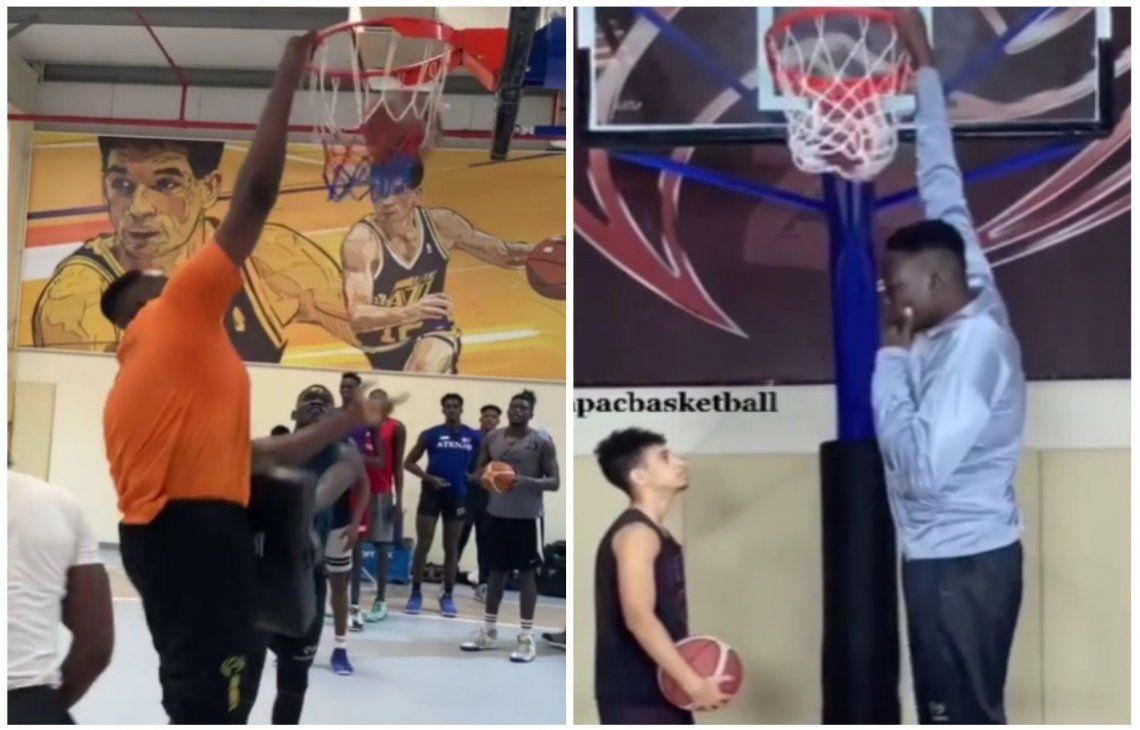 Abiodun Adegoke llama la atención de la NBA