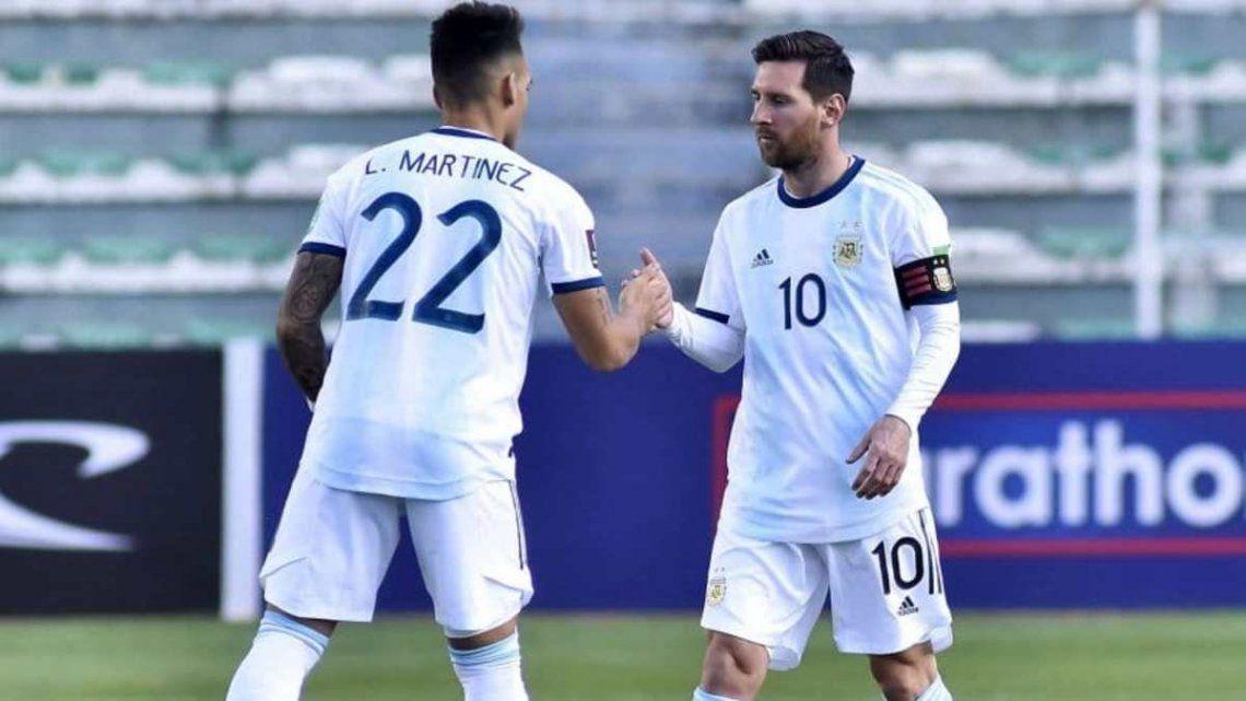 Lautaro Martínez y Lionel Messi no podrían viajar en caso que Conmebol haga jugar la fecha