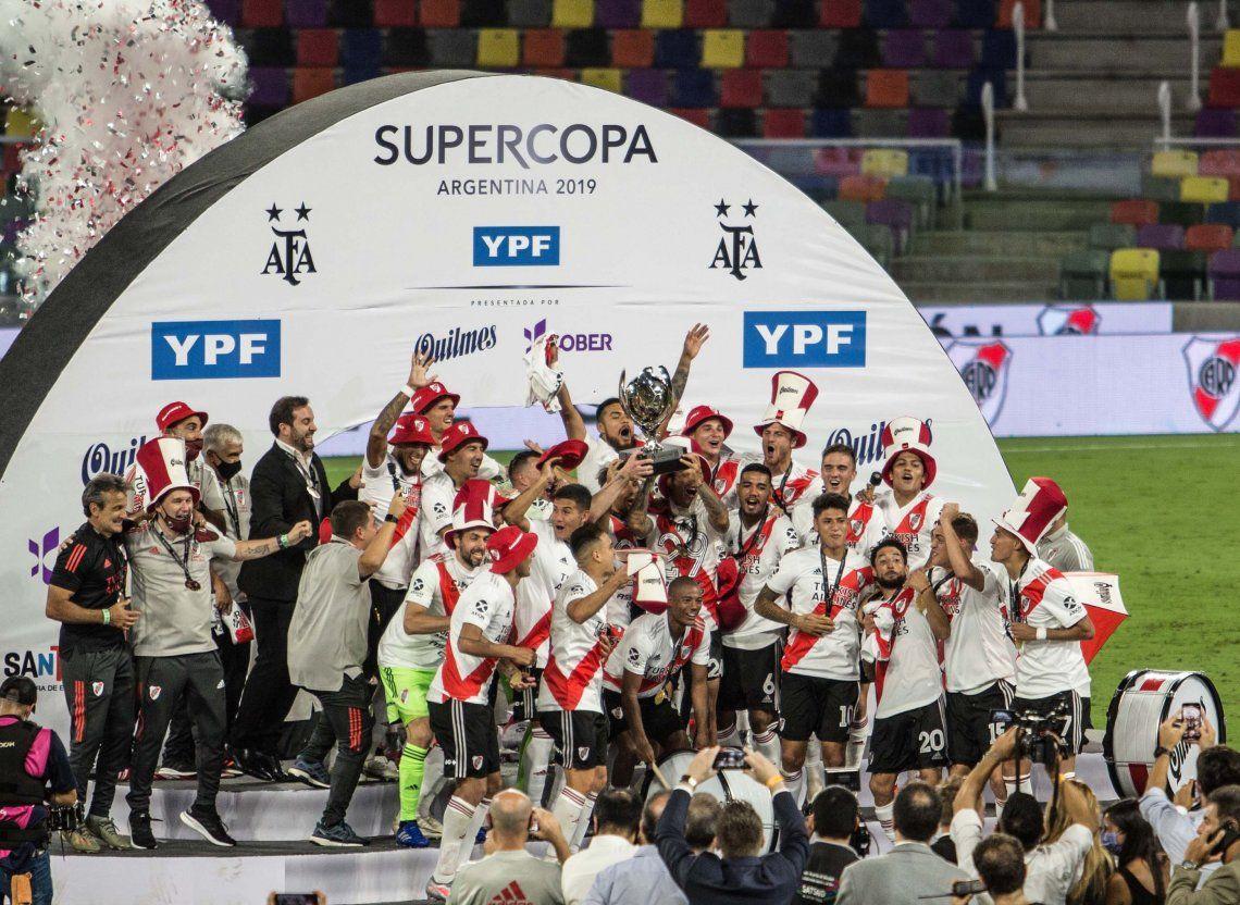 Las mejores fotos del triunfo de River ante Racing por la Supercopa Argentina