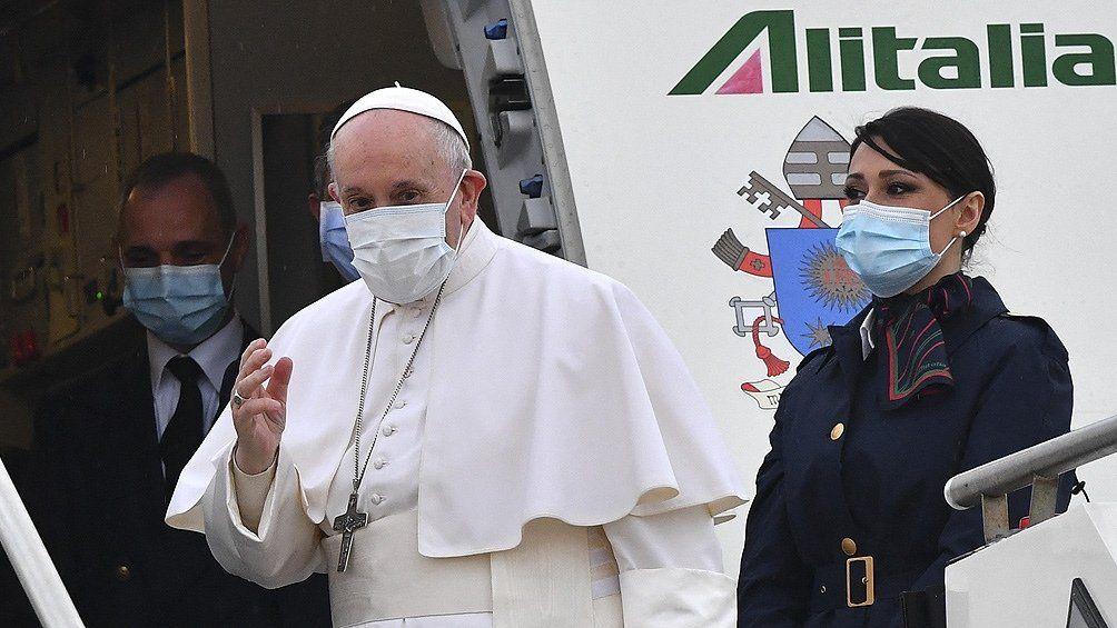 El Papa Francisco ya está en Irak y comienza su histórica visita
