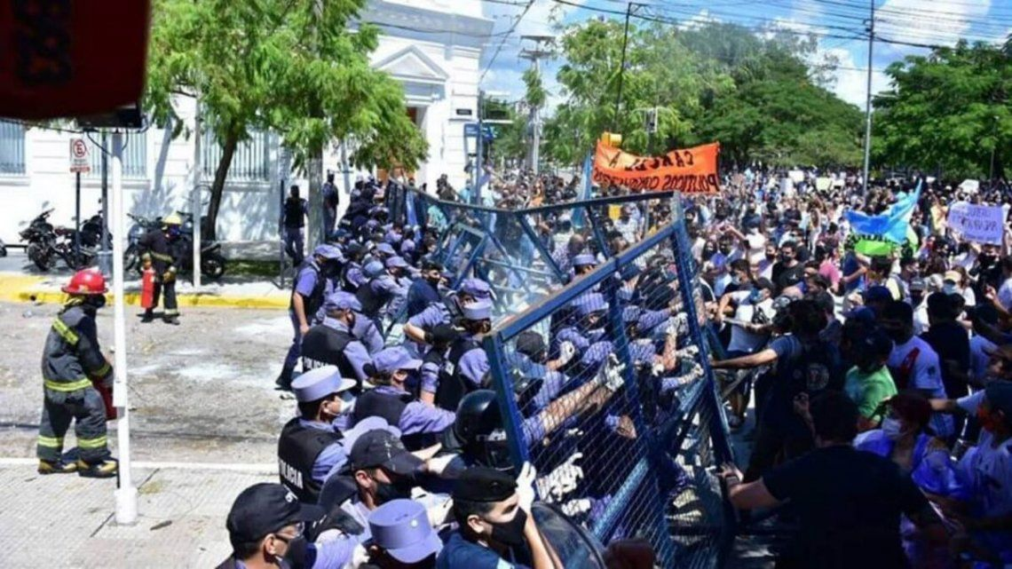 Formosa: la Secretaría de Derechos Humanos criticó la violencia policial pero también a los medios hegemónicos.