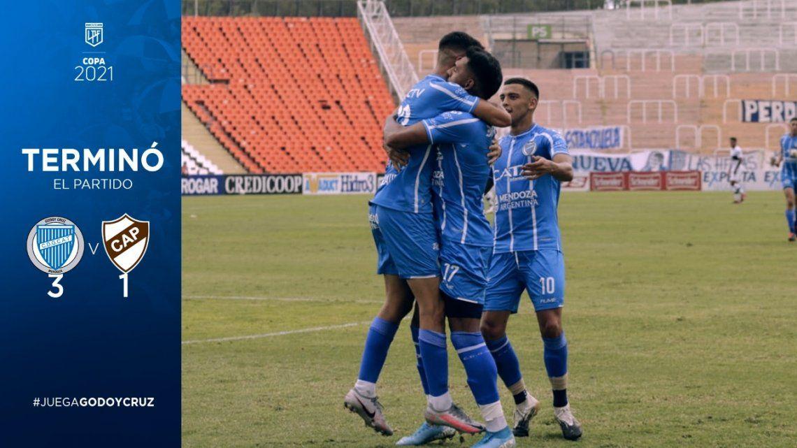 Godoy ruz venció a Platense en el final del partido