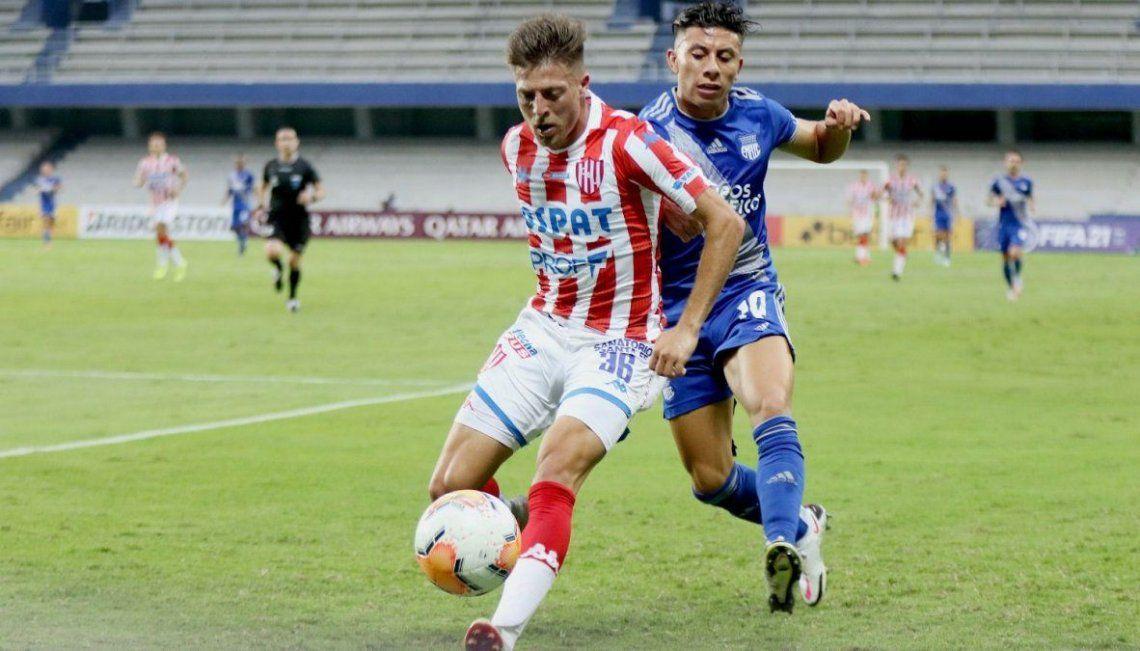 Federico Vera será titular en Unión de Santa Fe