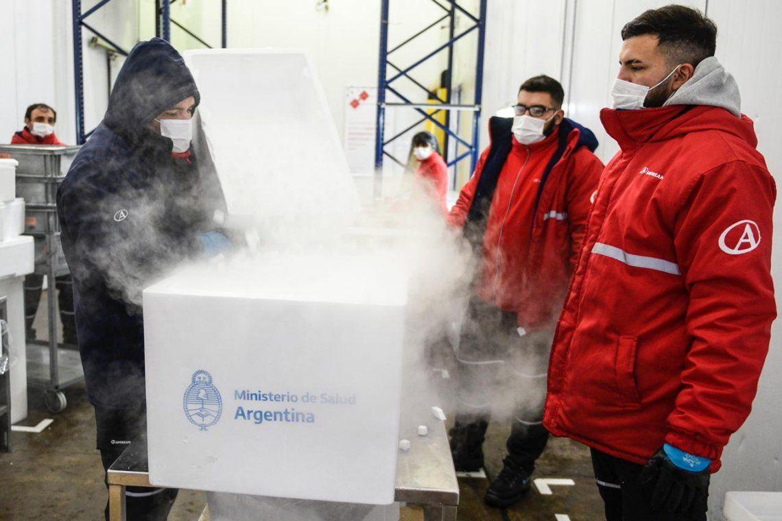 Se pone en marcha un nuevo operativo de distribución nacional de la vacuna Sputnik V.