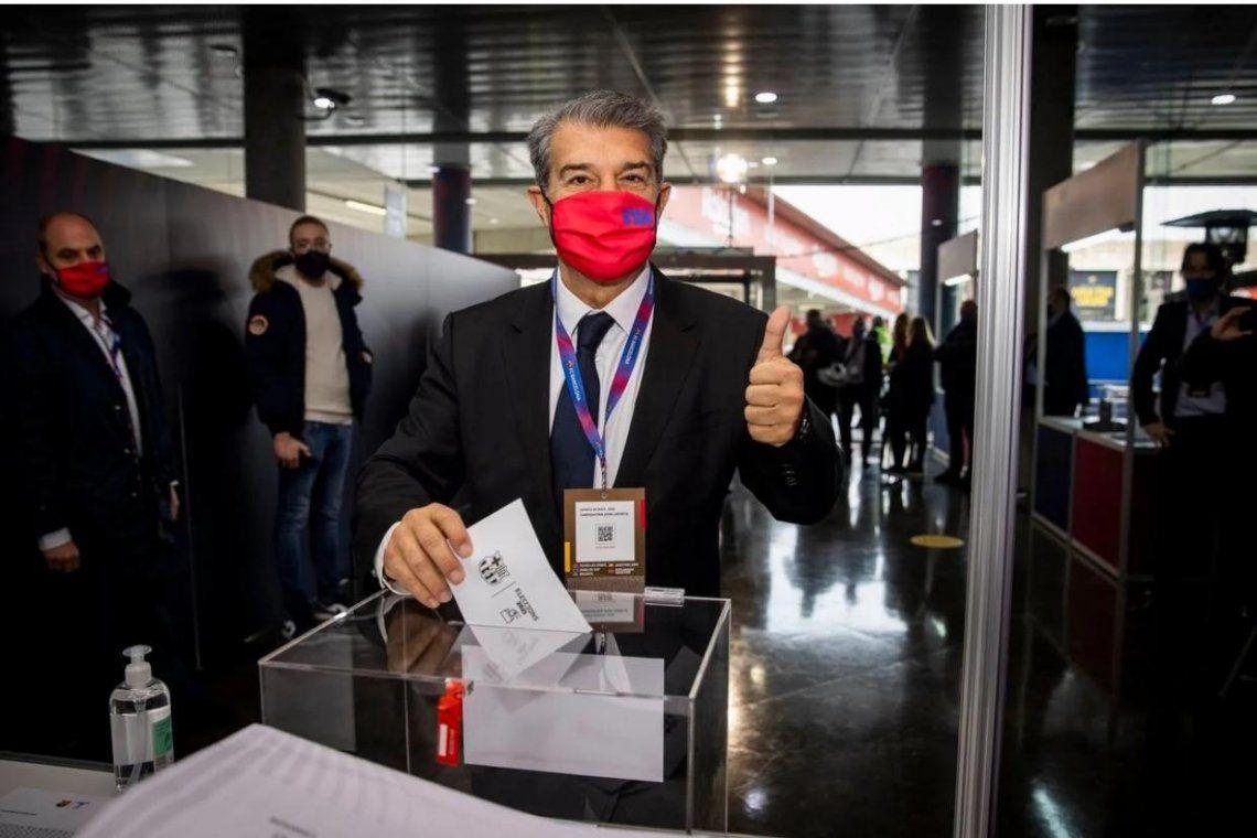 Joan Laporta es el nuevo presidente del FC Barcelona
