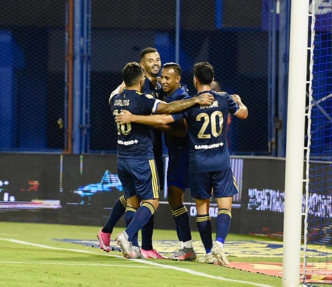 Boca no se apiadó del Fortín en Liniers.