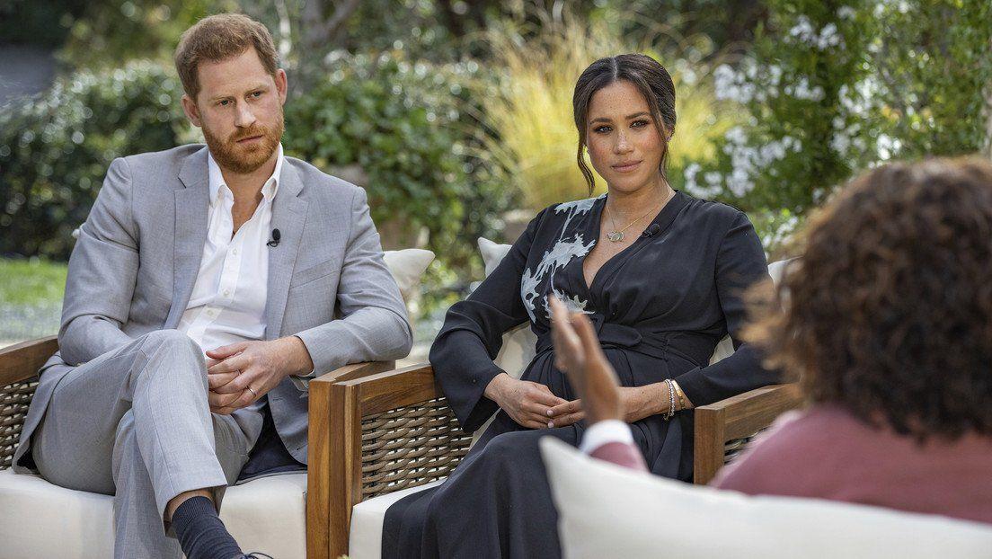 Meghan Markle y el príncipe Harry entrevistados por Oprah Winfrey
