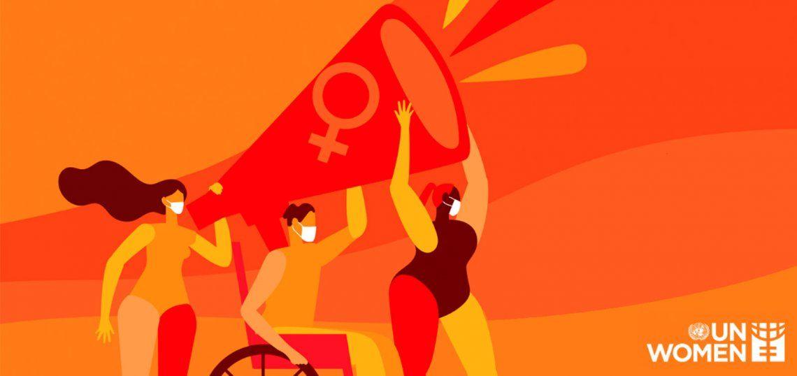 La ONU Mujeres define la violencia de género como la pandemia en la sombra.