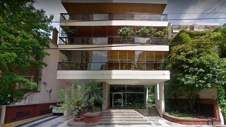 Belgrano: la casa del abogado herido.