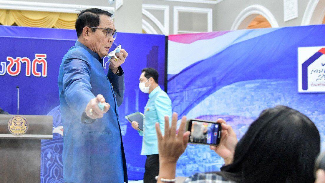 Tailandia: agresión a los periodistas.