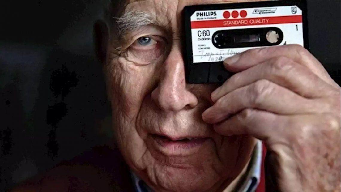 Holanda: murió a los 94 años Lou Ottens, el inventor del cassette