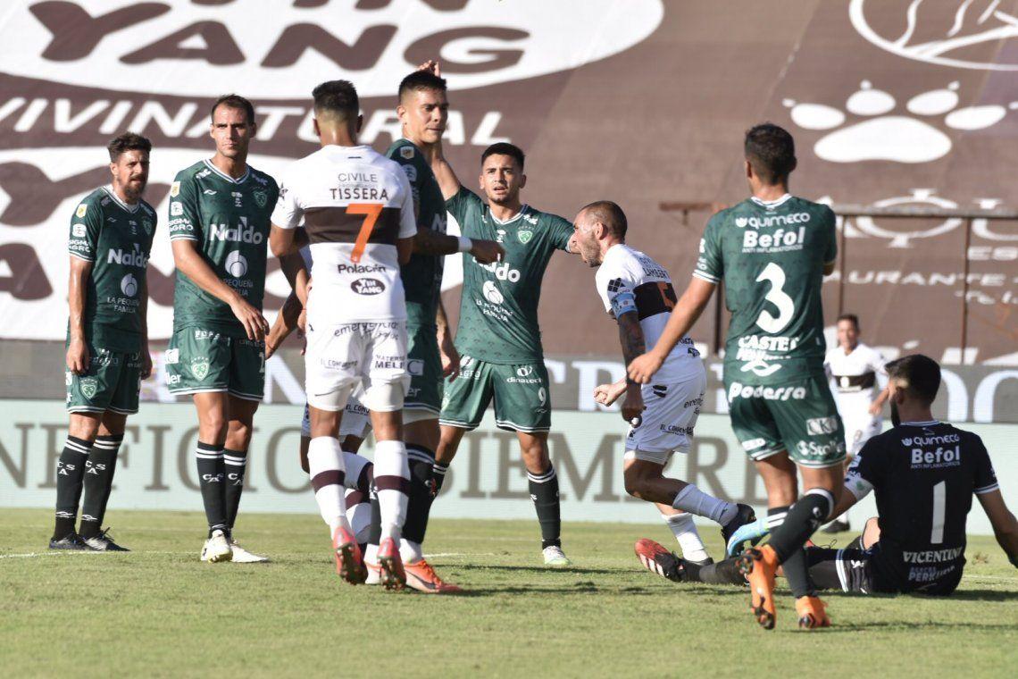 Platense y Sarmiento empataron 1-1 en Vicente López