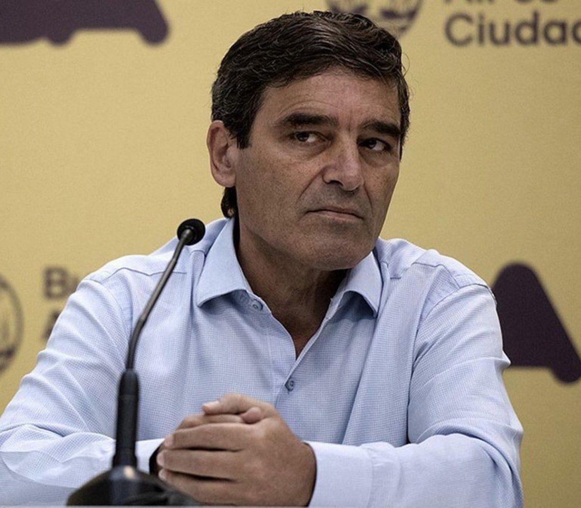 El ministro de Salud de la Ciudad Autónoma de Buenos Aires