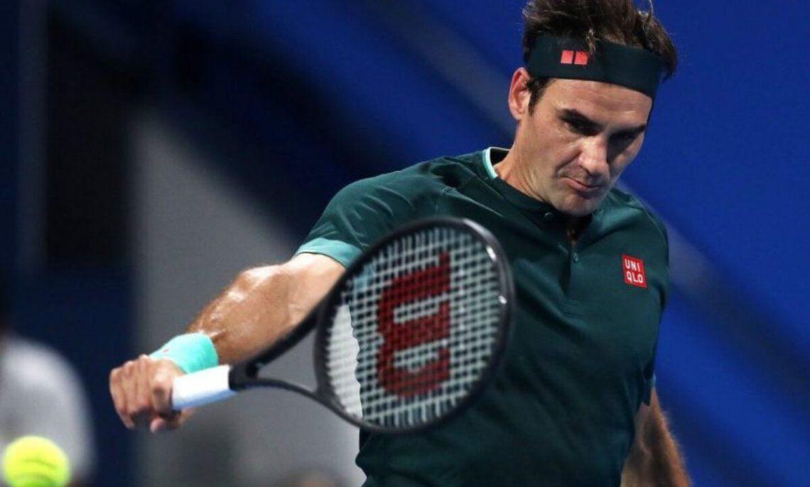 Roger Federer quedó eliminado en Doha
