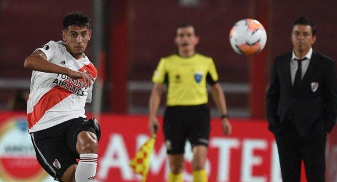 Marcelo Gallardo recupera a Angileri para ir a La Bombonera.