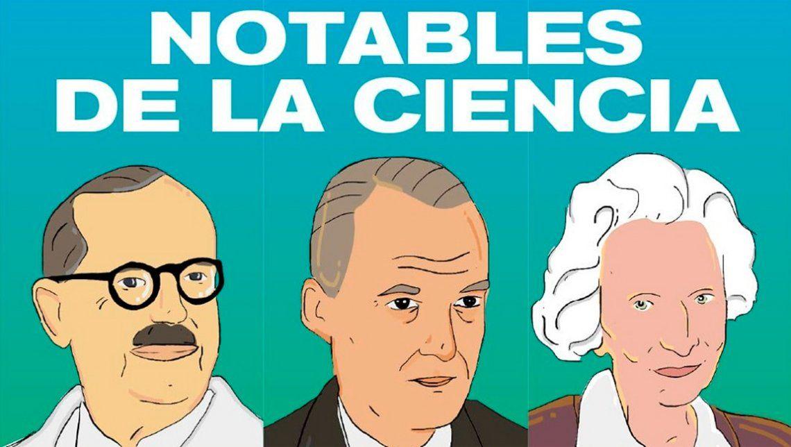 Bernardo Houssay y Luis Leloir