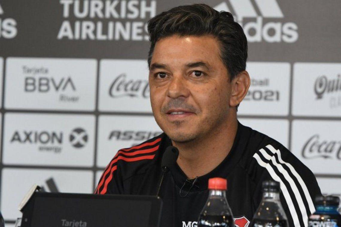 Marcelo Gallardo no quiere darle información a Boca.