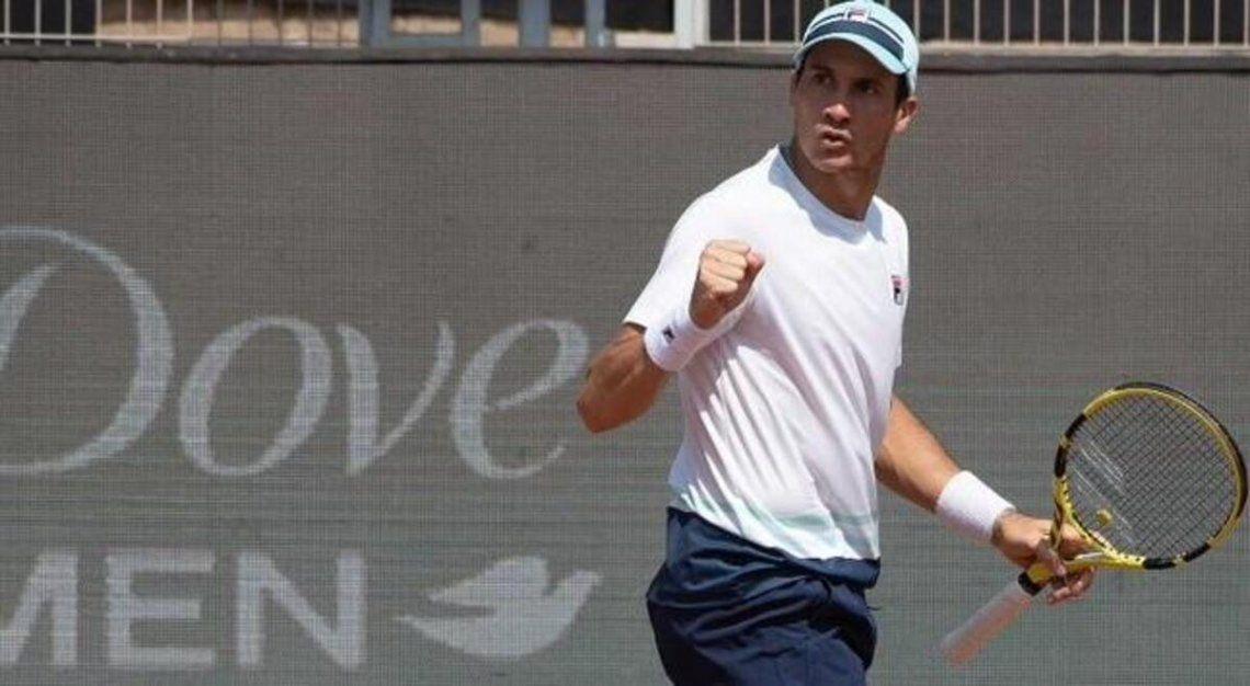 Facundo Bagnis va por la final del ATP mañana a las 17 ante Delbonis.