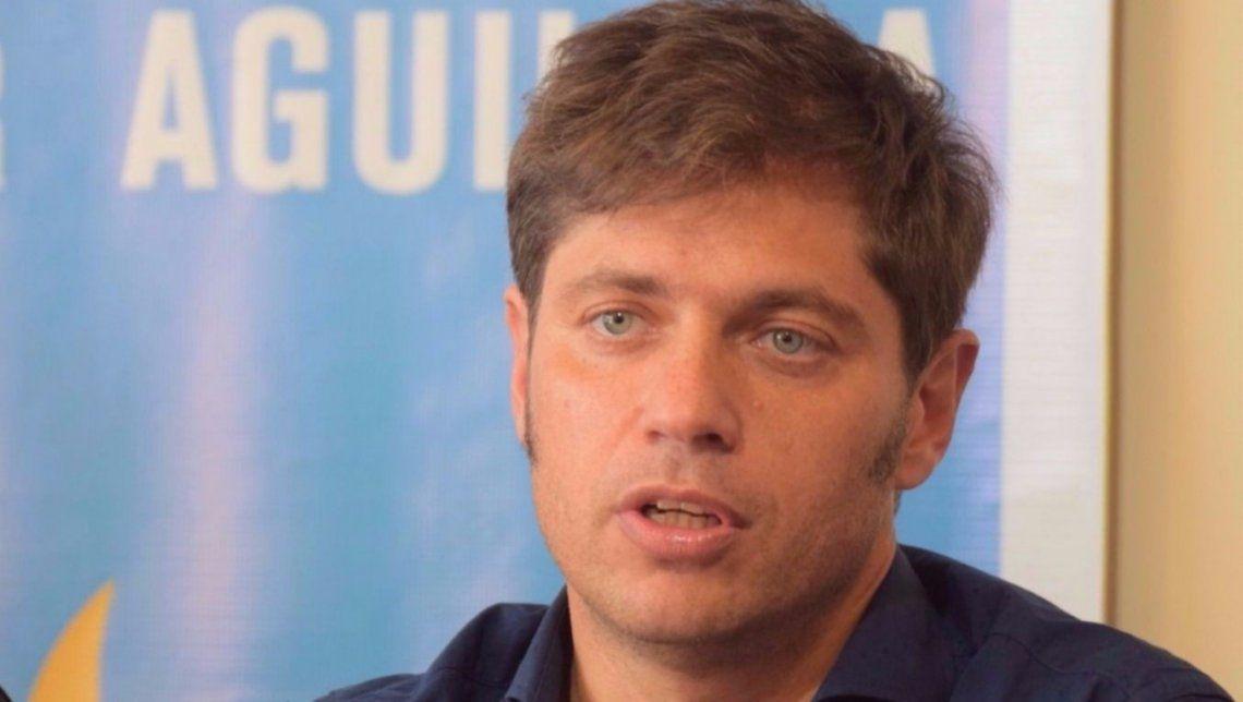 Axel Kicillof denunció lawfare contra él