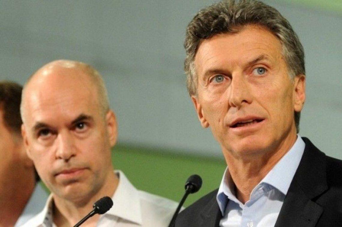 Macri y Rodríguez Larreta repudiaron los incidentes en Chubut