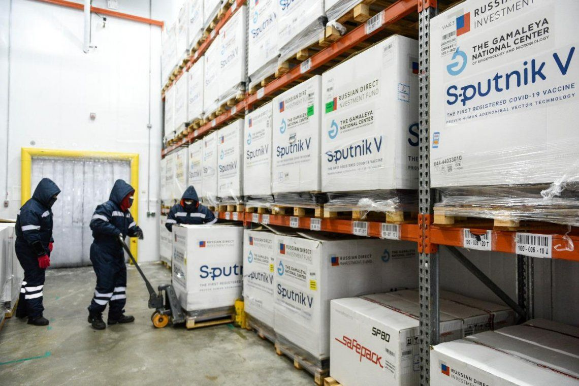 Comenzó una nueva distribución de vacunas sputnik contra el coronavirus