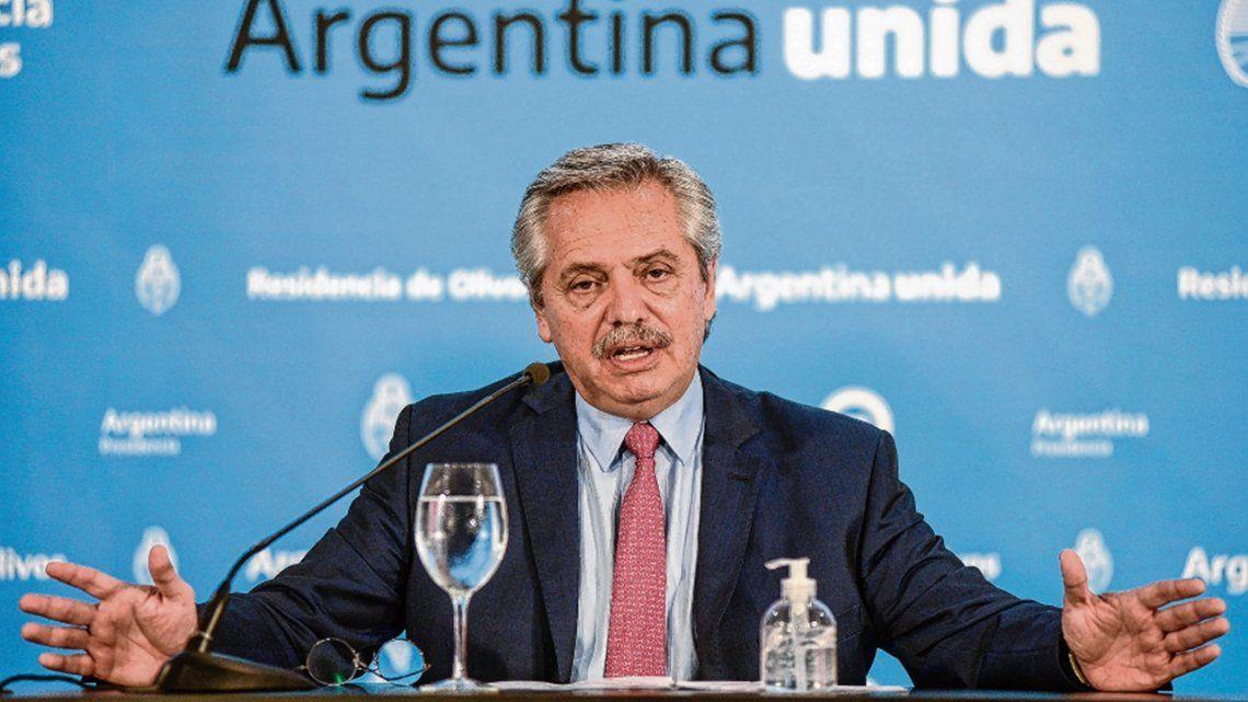 Alberto Fernández encabezará un acto en el municipio de Almirante Brown.