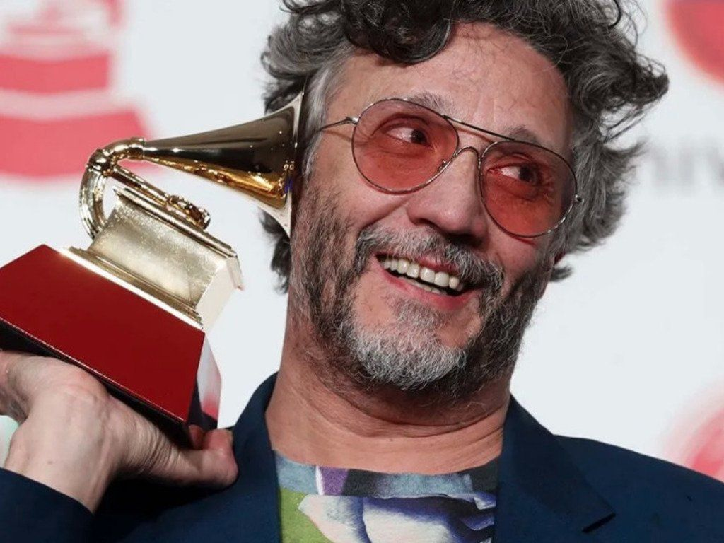 Fito Páez obtuvo el Grammy por su último trabajo La conquista del espacio.