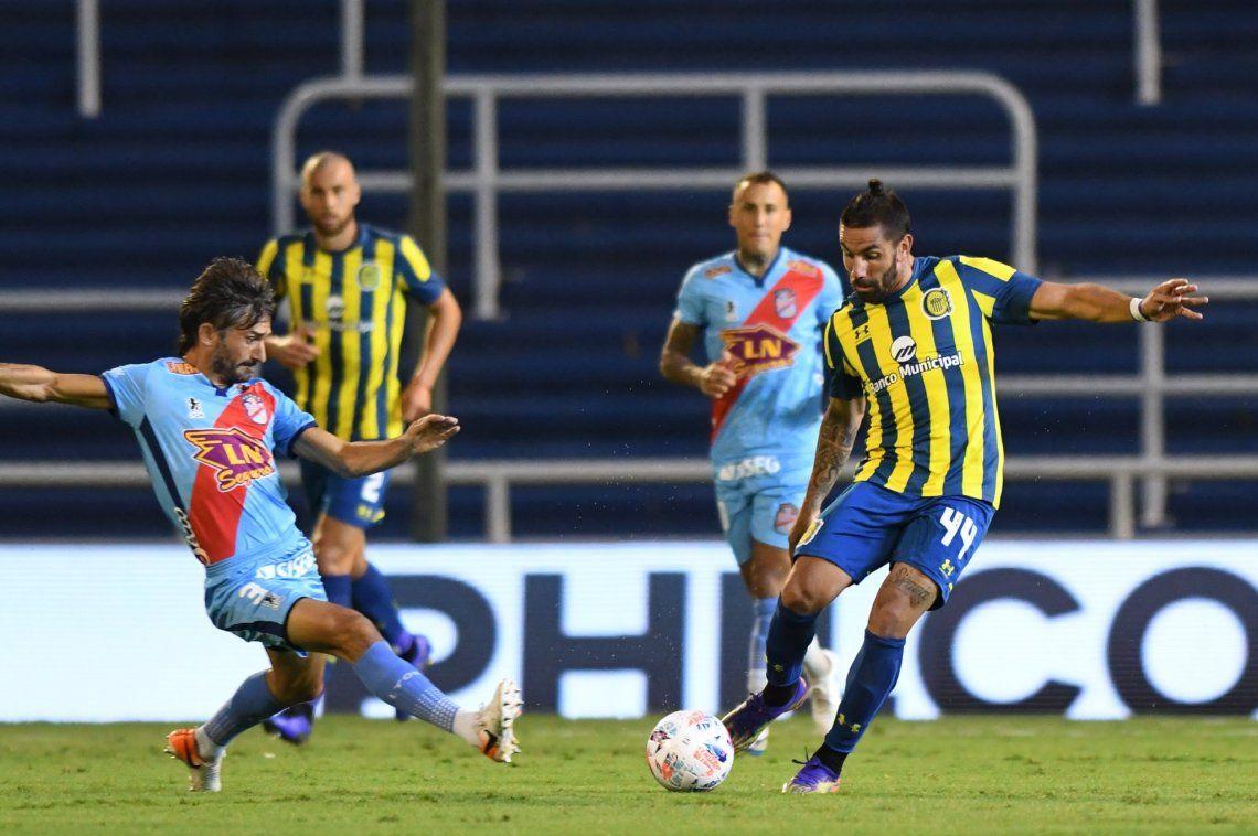 Rosario Central derrotó a Arsenal en Arroyito.