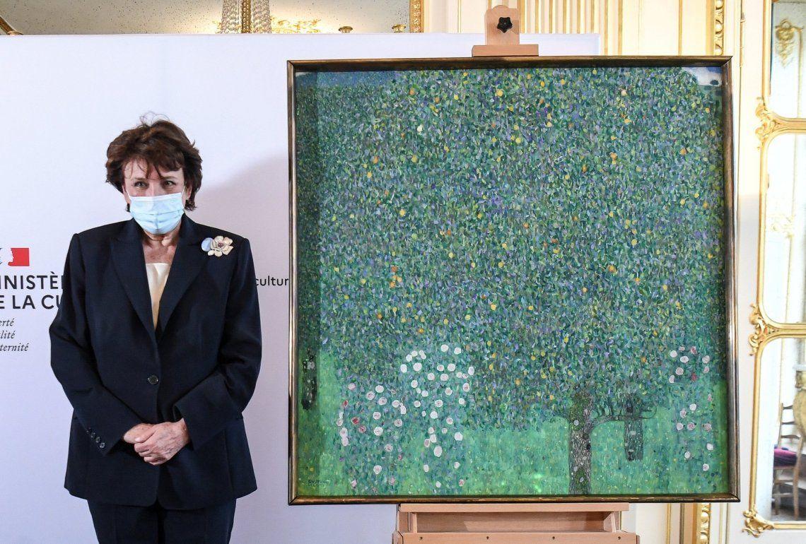 Francia: Gobierno devolverá obra de Klimt robado por los nazis hace 80 años