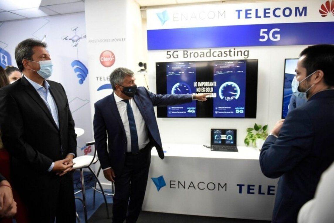 El ENACOM inició las pruebas de 5G en nuestro país.
