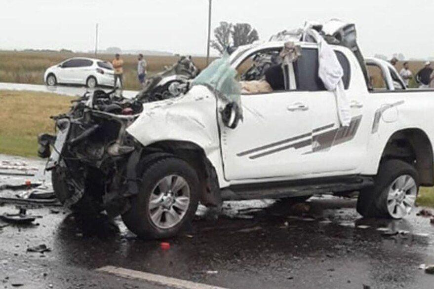 Areco: coche fatal de una camioneta.