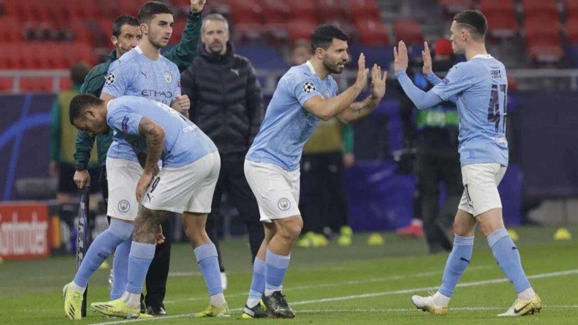 Manchester City y el Real Madrid en cuartos de final