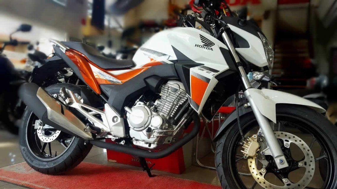 La Honda CB 250 Twister