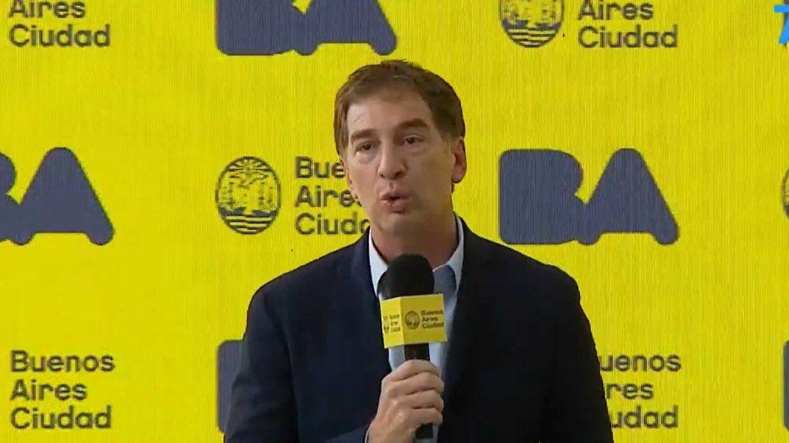 Diego Santilli: La prioridad es encontrar a Maia.