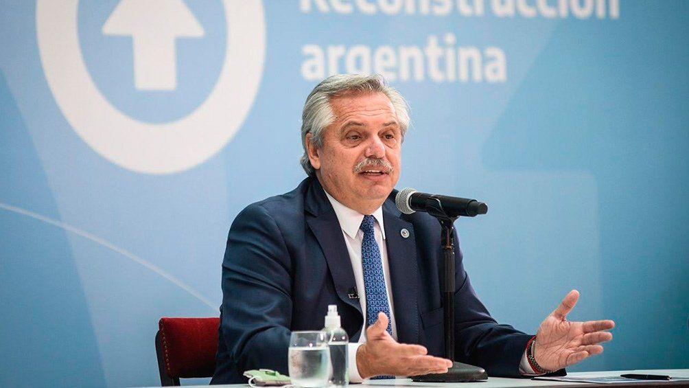 Fernández se refirió al acuerdo con el FMI.