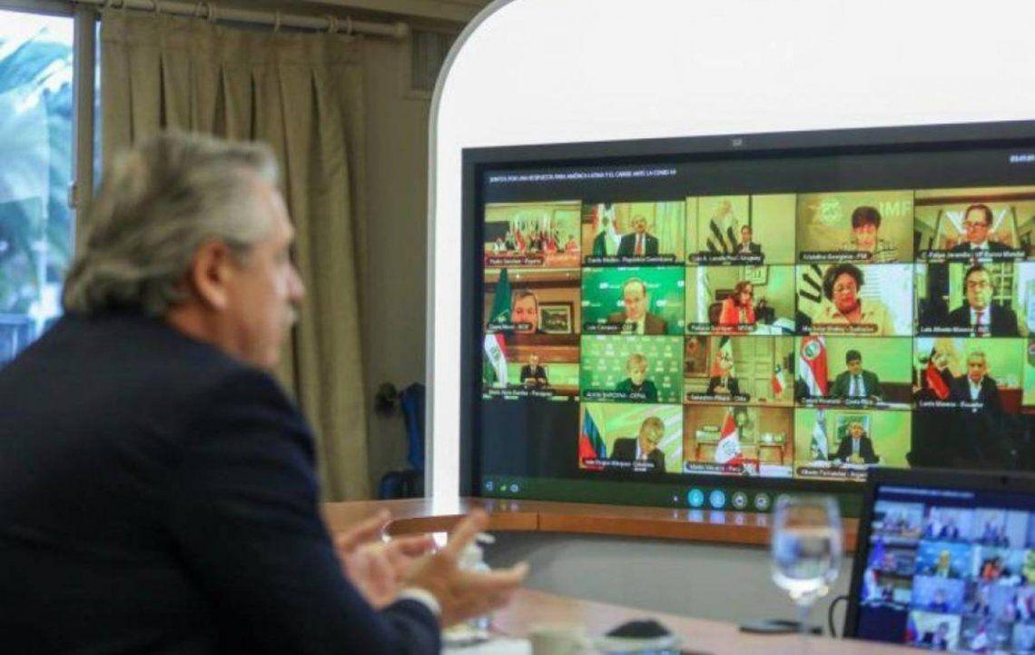 Alberto Fernández realizará una videoconferencia con los gobernadores